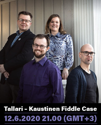 CONCERT TICKET (streaming): Tallari – Kaustinen Fiddle Case  12.6.2020 21.00 (GMT+3)