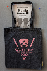 VirtualKaustinen bag, dark gray