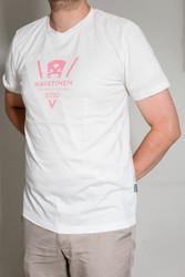 VirtualKaustinen slim t-shirt, white