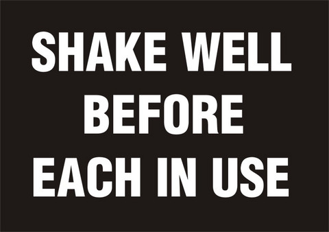 SHAKE WELL BEFORE EACH IN USE
