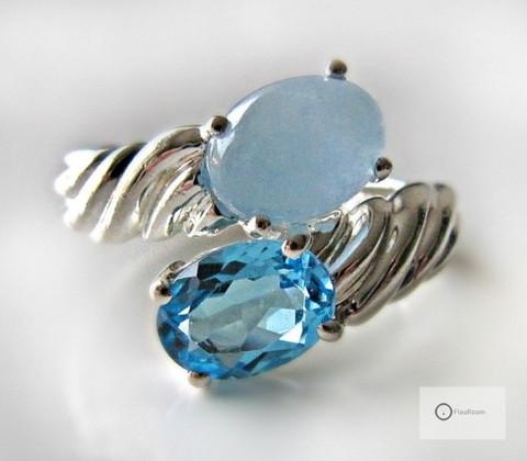 Hopeasormus Siniset Kivet
