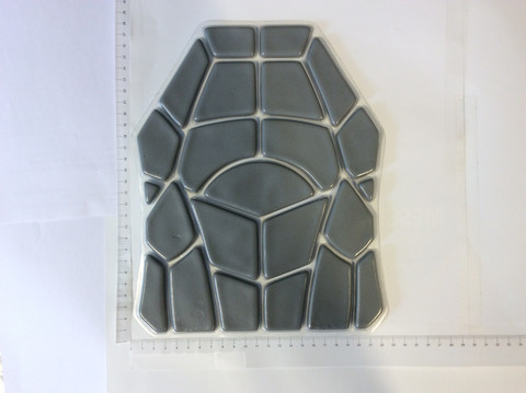 ZB-7 trauma pad for bullet proof vests