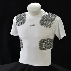 Jersey with rib and  shoulder protection