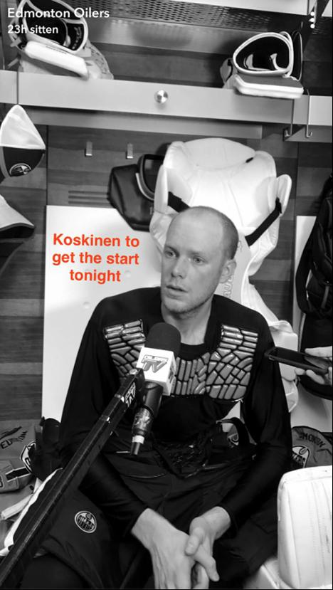Mikko Koskinen / Edmonton Oilers