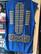 Horse racing jersey blue