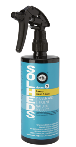 Solheds Derma 9 Luxury shine & care, 750ml