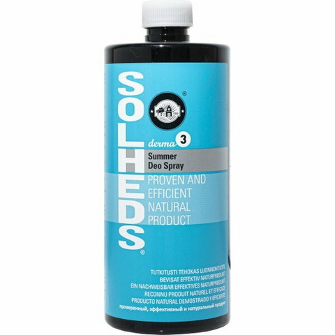 Solheds Derma 3 Summer Deo Spray, 750ml