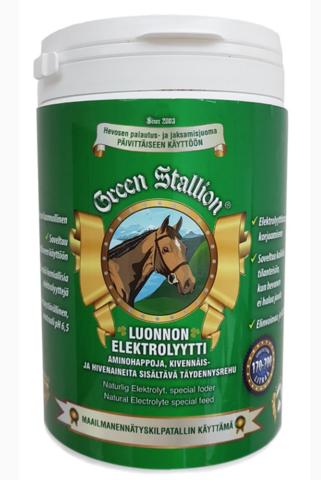 Green Stallion luonnon elektrolyytti