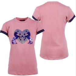 Qhp Esma lasten paita, vaaleanpunainen
