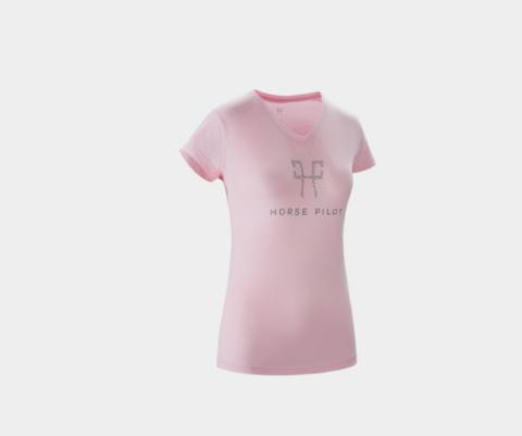 Horse Pilot Team Shirt, Pink