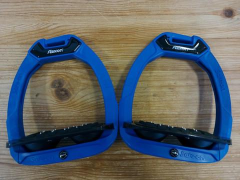 Flex-on Safe-on jalustimet, sininen-musta