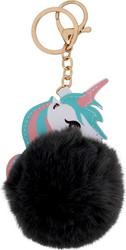 Yksisarvinen avaimenperä Fluffy, eri värejä