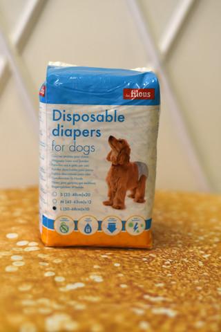 Les Filous Deluxe koiranvaippa L 10 kpl