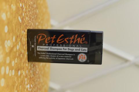 Pet Esthe hiilipohjainen  shampoo, 400ml