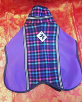 Milliset Softshell Mantteli Ruudullinen violetti
