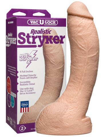 Vac-U-Lock - Jeff Stryker Realistinen dildo 22,9 cm