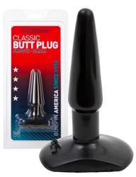 Classic - Anustappi Musta S -koko