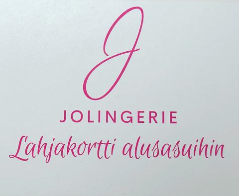 Jolingerie Lahjakortti alusasuihin 100