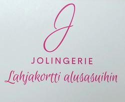 Jolingerie Lahjakortti alusasuihin 80