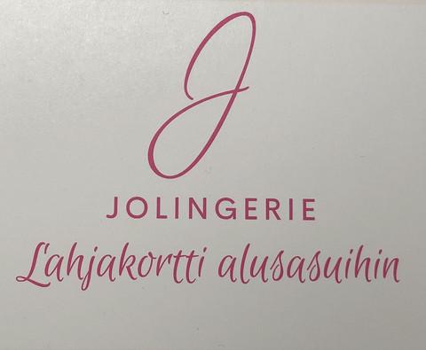 Jolingerie Lahjakortti alusasuihin 90
