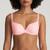 Marie Jo L'Aventure Jose Summer Check, topattu t-paitarintaliivi, pink