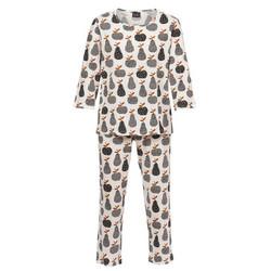 Pyjama 2/3hinainen Trofe musta-valkoinen Apple Papple