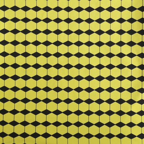 JOUSTOCOLLEGE Salmiakkikennot (musta/keltainen) leveys n. 160cm