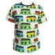HONKA t-paita Kleinbus unisex malli miesten mitoitus XS-XXL
