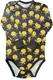 KUURA body Hillat trikoo musta 50-92cm