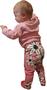 HUURRE legginssit Liljameri roosa 50-80cm trikoo