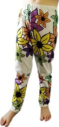 HUURRE legginssit Liljameri sateenkaari 50-80cm trikoo