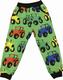 LEHTO housut taskuilla Rattorit monivärit 86-152cm joustocollege