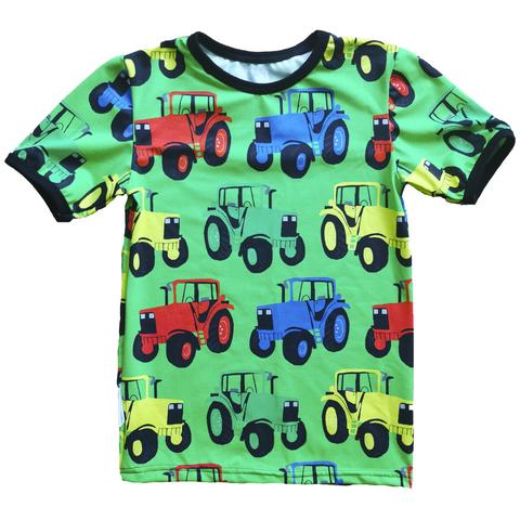 NEVA t-paita Rattorit moniväriset vihreä 86-152cm trikoo