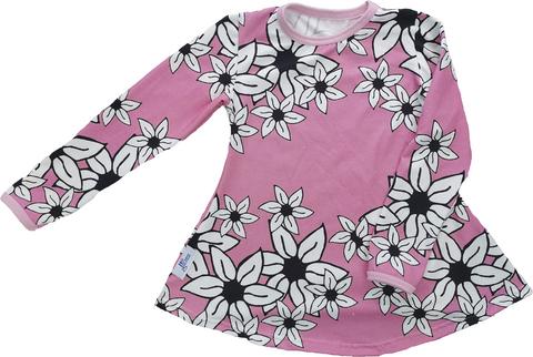 LAINE mekkotunika Liljameri roosa 86-152cm trikoo