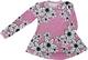 LAINE mekkotunika Liljameri roosa 86-152cm lyhyt- tai pitkähih.