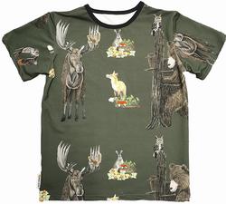 HONKA t-paita Metsänelämää joustocollege XS-XXL