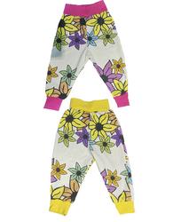 LOUNA  housut Liljameri sateenkaari 50-86cm trikoo