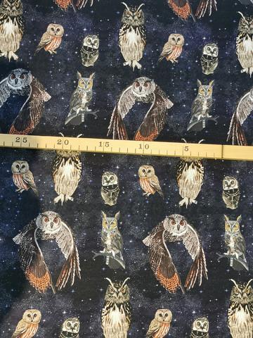 JOUSTOCOLLEGE Pöllöjen yö leveys n. 160cm