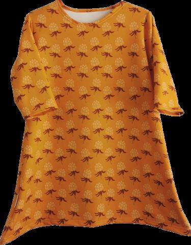 AAVA tunika 3/4-hihainen Hillat oranssi XS-3XL taskuton/taskuilla