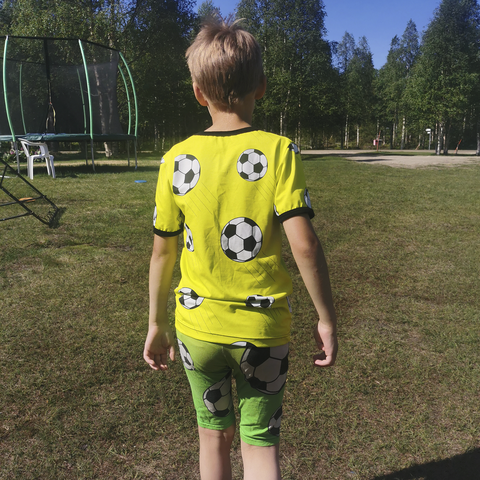 NEVA t-paita Jalitsu keltainen 86-152cm trikoo