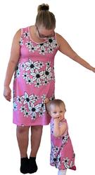 TRIKOO Liljameri roosa, leveys n 165cm