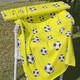 TRIKOO Jalitsu keltainen leveys n. 165cm