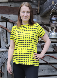 PURO naisten t-paita Salmiakkikennot XS-XXL joustocollege