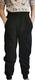 LEHTO housut taskuilla musta tai pinkki 86-152cm joustocollege