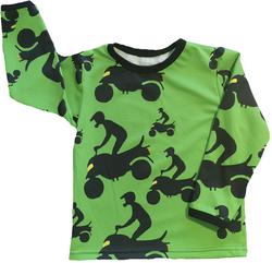 OTSO paita Mönkijät vihreä trikoo 86-152cm