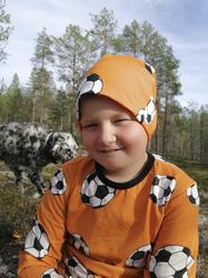 OTSO paita Jalitsu oranssi 86-152cm trikoo