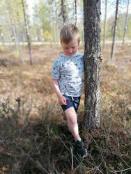 NEVA t-paita Huskyt 86-140cm trikoo