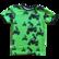 NEVA t-paita Mönkijät limenvihreä 86-152cm trikoo