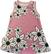 USVA liivimekko Liljameri roosa 50-80cm trikoo