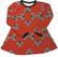 LAINE mekkotunika Onnensydämet punainen 86-152cm jc